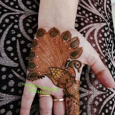 Celebrate this festival of love with unique and trendy karwa chauth mehndi designs for They will make your look stand-out on this festival. Dulhan Mehndi Designs, New Bridal Mehndi Designs, Mehendi, Mehndi Designs Finger, Peacock Mehndi Designs, Henna Hand Designs, Mehndi Designs Book, Legs Mehndi Design, Mehndi Designs For Girls