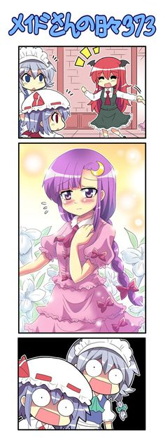 Patchouli's new look
