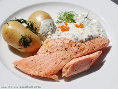 Chili und Ciabatta: Mittsommer-Lachs mit Dill-Kartoffeln