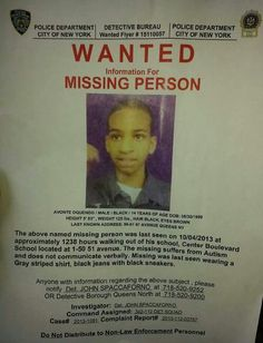 Missing boy with autism in NYC. Pleas repin. #nyc #autism #amberalert
