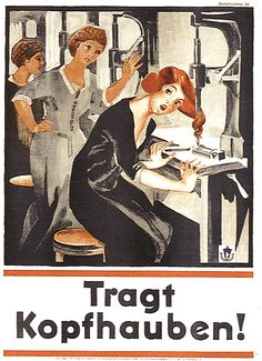 German campaign poster from 1929
