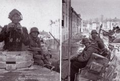 Another shot of the same tank, Kharkov 1943.