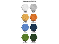 """Colorful Hexagonal Wall Tiles Made From Sound-Absorbing """"Wood Wool""""   Inhabitat - Green Design, Innovation, Architecture, Green Building"""