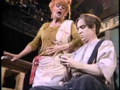 """""""Worst Pies in London"""":  Angela Lansbury & George Hearn in the original Broadway cast of """"Sweeney Todd."""""""