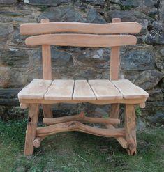 wooden benches outdoor | Rustic Garden Benches | Rustic Wooden Garden Benches