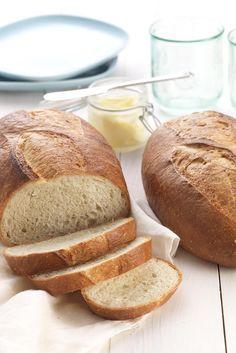 {My new go-to bread recipe - love it} Rustic Sourdough Bread Recipe