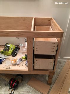 Build-a-DIY-Bathroom-Vanity-Build-drawers-cabinet-doors-Thrift-Diving 669