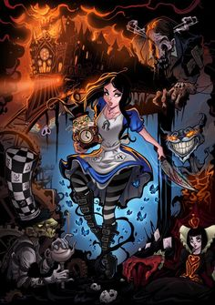 American McGee's Alice: Madness Returns. Art by Martin Abel.