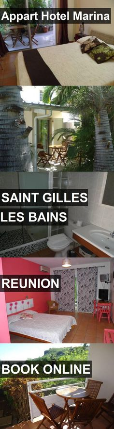 Appart Hotel Marina in Saint Gilles Les Bains, Reunion. For more information, photos, reviews and best prices please follow the link. #Reunion #SaintGillesLesBains #travel #vacation #hotel