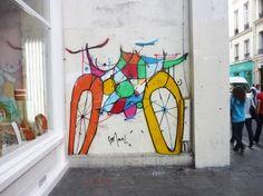 Graffiti Smael Vélo 03
