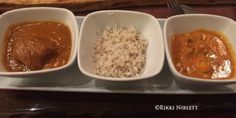 Braised Beef, Butter Chicken, and rice from Sanaa at Disney's Animal Kingdom Lodge