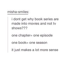 Yessss!!!! You could for all the small important details that book nerds love!!