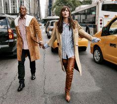 Live And Kicking Publication: Vogue US October 2016 Model: Karlie Kloss, Cam Newton Photographer: Gregory Harris Fashion Editor: Sara Moonves, Michael Philouze Hair: Jimmy Paul Make Up: Romy Soleimani