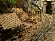 model railroad sawmills | Sawmill Siesta - Model Railroading Layouts - Model Railroader - Trains ...