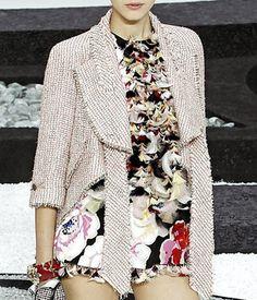 Chanel Spring 2011 RTW Tweed Kimono-Sleeved Jacket