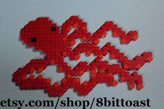 Octopus hama perler beads
