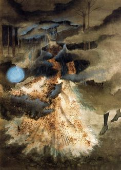 Remedios Varo, As I Pass, Withdraw 1959