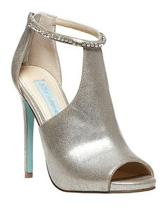 SB-Date-Silver by SB-Date-Silver // More from SB-Date-Silver: http://www.theknot.com/gallery/bridal-accessories/blue-by-betsey-johnson