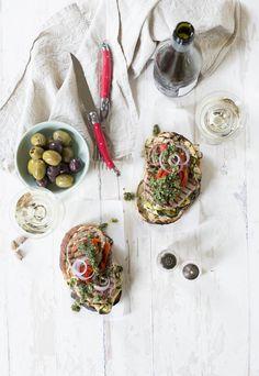 Mediterranean Steak Sandwiches #MADsandwiches