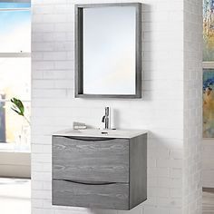 Home Decorators Collection 24in Wall Hung Vanity | The Home Depot Canada