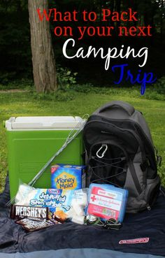 What to Pack on Your Next Camping Trip #KmartSummerFun