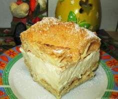 Karpatka-super przepis, zawsze się udaje :) Custard Slice, Polish Recipes, Polish Food, Food Cakes, Apple Pie, Vanilla Cake, Cake Recipes, Food And Drink, Baking
