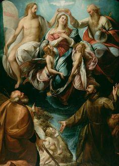 Francis Of Assisi, St Francis, Catholic Art, Religious Art, Roman Catholic, Santa Maria, Jesus E Maria, Google Art Project, Queen Of Heaven