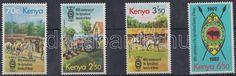 Kenya stamp Agriculture set MNH 1982 Mi 227-230 WS174196