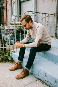 Glasses style, Style and Guy fashion on Pinterest