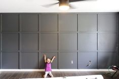 Make a feature wall in your bedroom with this simple DIY board and batten tutorial. Make a feature wall in your bedroom with this simple DIY board and batten tutorial. Feature Wall Bedroom, Accent Wall Bedroom, Master Bedroom, Feature Walls, Accent Walls, Diy Bedroom, Bedroom Ideas, Diy Wand, Basement Renovations
