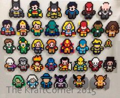 INFORMATION---------------------------------- Get your own personal DC inspired character perlers here! Get one or get them all! Need to fill your collection, or cant find what you need, just message me and I can make it for you. These items are handmade to order. You have your choice of what you want them to be. You can also order multiples and give them as party favors. If you dont see something that you would like for me to create, just message me and I can get that done for you…