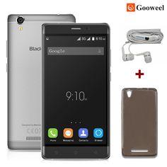 Blackview A8 휴대 전화 MTK6580 쿼드 코어 5.0 인치 IPS HD 화면 안드로이드 5.1 모빌 전화 1 기가바이트 RAM 8 기가바이트 ROM 8MP 3 그램 GPS 스마트 폰