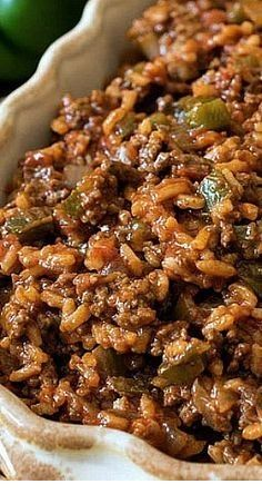 Texas Hash Texas Hash- A quick one-skillet meal made with ground beef, peppers, rice, tomatoes and chili powder. The post Texas Hash & Foods My Family Loves appeared first on Ground beef recipes . Mexican Food Recipes, Dinner Recipes, Indian Recipes, Beef Dinner Ideas, Breakfast Recipes, Breakfast Cooking, Mexican Meals, Indian Snacks, Mexican Dishes