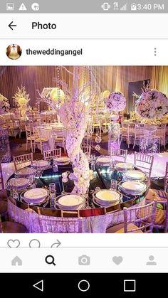 Elegany tree centerpieces