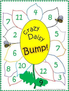 FREE Bump! game board... and instructions for a DIY project.