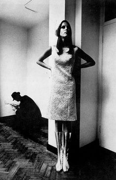 Photo by Helmut Newton for Vogue, 1966.