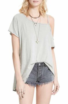 49229dc778c0b8 Free People Coraline Tee Tank Tops, Crop Tops, Nordstrom, Tees, Fashion,