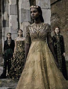 Photo Valentino by Fabrizio Ferri for Vogue September Italia