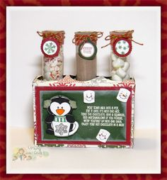 Crazy About Cricut: Jaded Blossom Guest Designer {Hot Cocoa Kit}