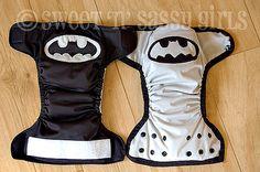 Batman diapers! omg.