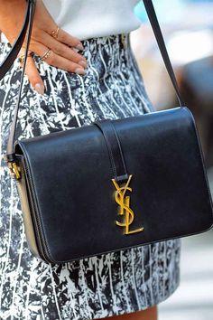 af504ed0cf Saint Laurent - Saint Laurent Monogram Universite Medium Leather Crossbody  Bag