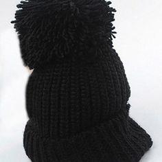 Korean Cute Knitting Hat Warm Wool Cap - Gchoic.com