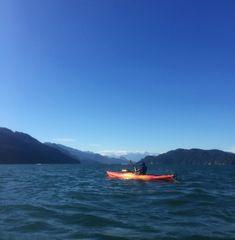 my first time kayaking - harrison hot springs