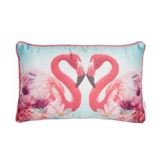 Butterfly Home by Matthew Williamson Designer pink flamingo heart cushion- at Debenhams.com Or if you would like us to make a cushion for you from your chosen fabric call 0800 825 0034.