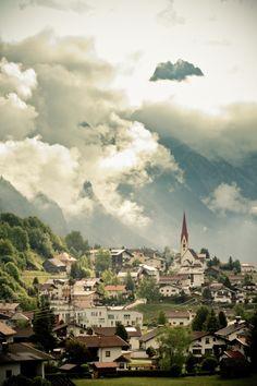 Austrian Village in the Alps, Austria, Europe Klagenfurt, Salzburg, Austrian Village, Places Around The World, Around The Worlds, Hallstatt, Big Lake, Summer Palace, Austria Travel