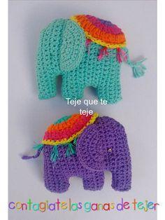 Crochet Elephant Softie and More Free Patterns For 2020 Crochet Brooch, Crochet Motif, Crochet Designs, Crochet Patterns, Crochet Turtle Pattern, Crochet Elephant Pattern, Elefante Hindu, Handmade Stuffed Animals, Crochet Accessories
