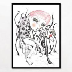Super smuk og mystisk illustration fra Bob Noon