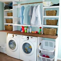 "Check out our site for even more info on ""laundry room storage diy"". It is actua. Check out our site for even more info on ""laundry room storage diy"". It is actua… , # Ikea Laundry Room, Laundry Room Colors, Tiny Laundry Rooms, Laundry Room Cabinets, Laundry Room Signs, Laundry Room Organization, Organization Ideas, Basement Laundry, Laundry Baskets"