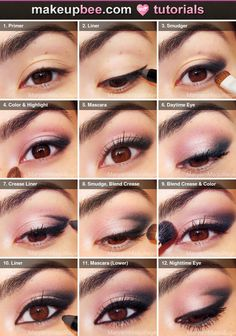 Step-By-Step Tutorial for Day-to-Night Smokey (4 Products)