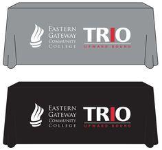 Table Throw Eastern Gateway Community College #TRIO Upward Bound